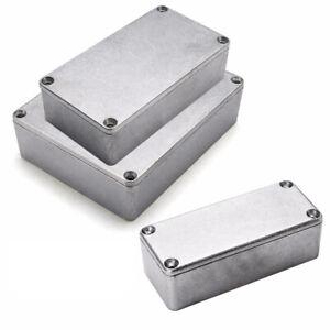 Neu-Aluminium-Gehaeuse-Box-Platinen-Elektronik-Netzteil-Montage-Verteilerkasten
