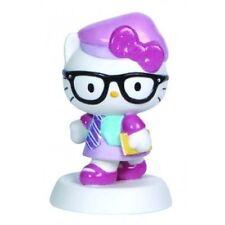 Precious Moments Sanrio Hello Kitty Student Nerd Porcelaine Figurine New