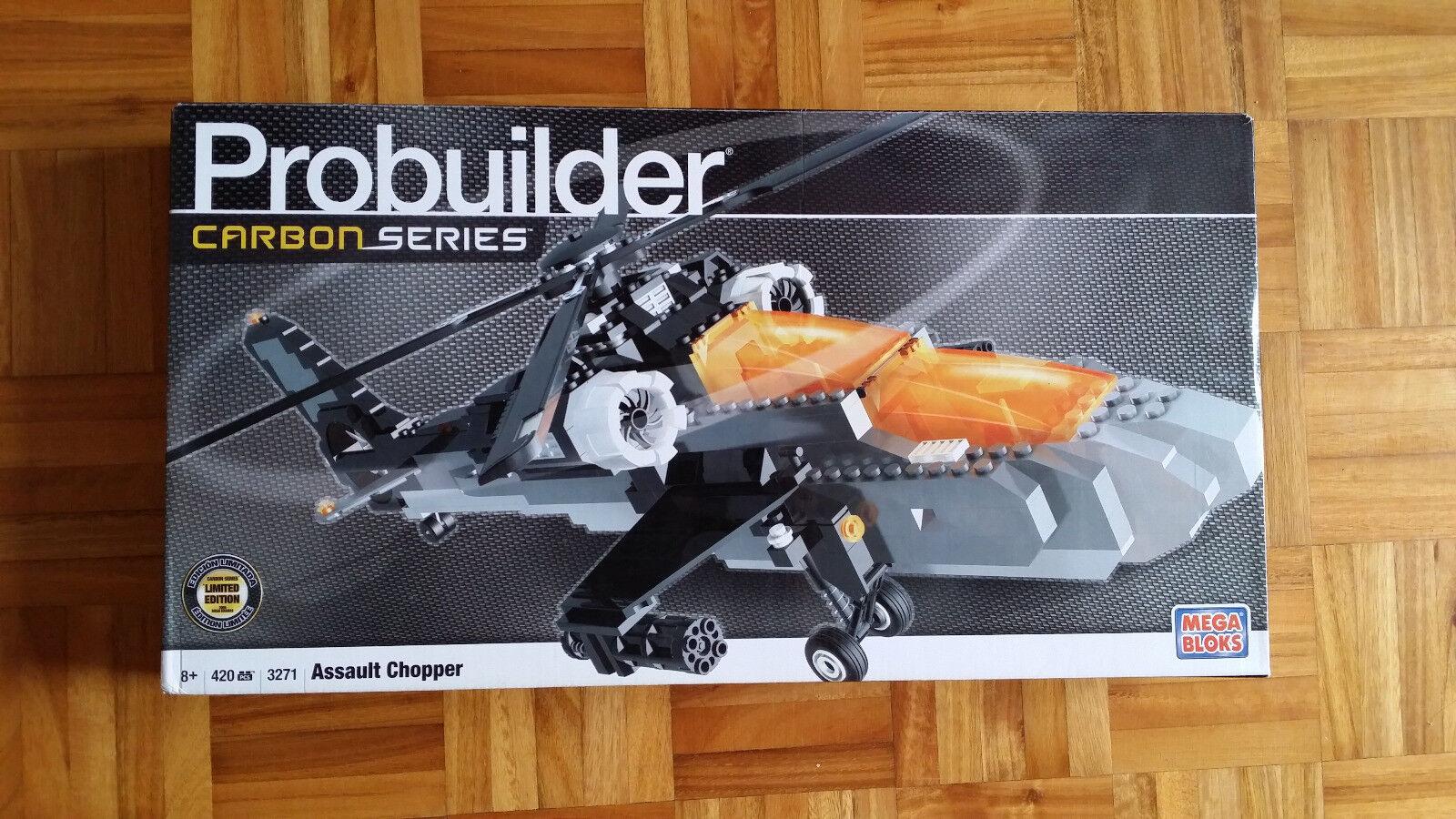 Mega Bloks Probuilder 3271 Assault Chopper 100% completo nuevo a estrenar