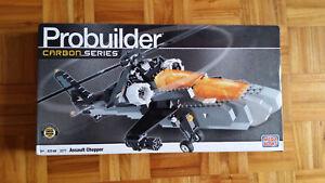 Mega-Bloks-Probuilder-3271-Assault-Chopper-100-completo-nuevo-a-estrenar