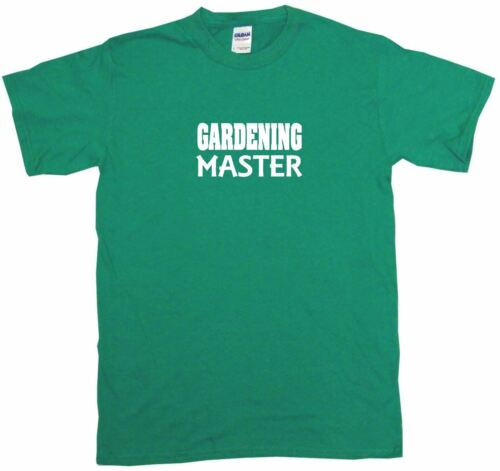 6XL Gardening Master Mens Tee Shirt Pick Size /& Color Small