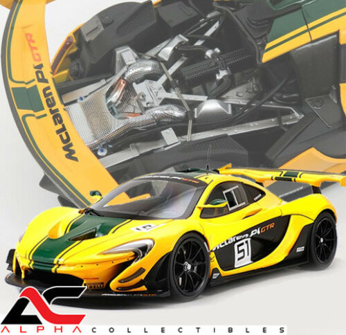 Details about  /ALMOST REAL ALM840102 1:18 MCLAREN P1 GTR #51 2015