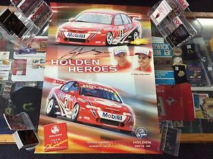 HOLDEN-HEROES-2000-SERIES-No-1-of-4-SIGNED-BY-CRAIG-LOWNDES-POSTER