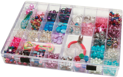 Darice Plastic Storage Box 11.75 X 8.75 X 1.5 Inches