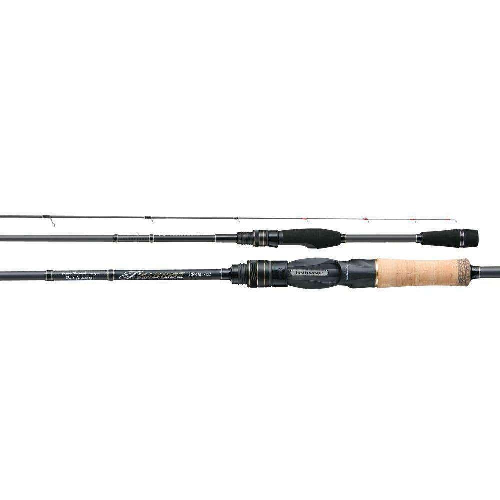 Varilla de rango completo y CC C68M CC Baitcasting tailwalk Para Bass