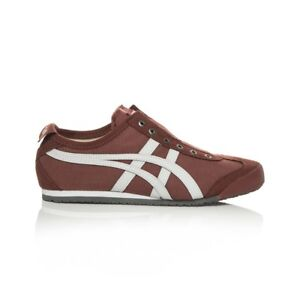 Men's Women's Unisex Trustful Onitsuka Tiger Mexico 66 Slip On Casual Shoes Russet Br