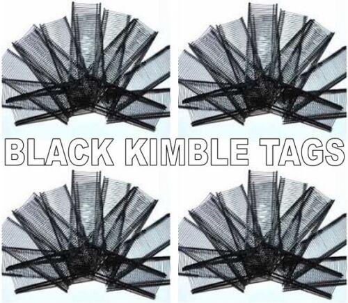 Fine Black 35mm Plastic Tagging Gun Tags Qty: 5,000