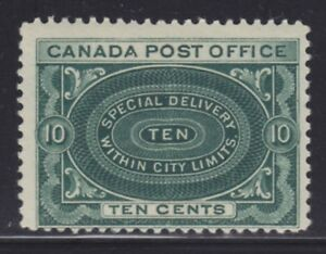 CANADA 1898 MINT NH SC #E1 SPECIAL DELIVERY CAT $300