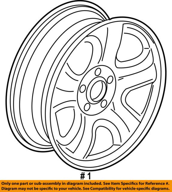 Buy Honda 42700 T 0 Aa 01 Genuine Oem Factory Original Wheel Steel