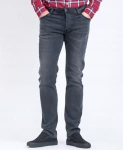 Mens-Jeans-Lee-Powell-Entallado-Hipster-tramo-Recto-RRP-80-segundos-L197