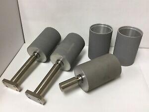 """Bushings  1.230/""""  OD X 1/""""   ID   X  3//4/"""" Long  Steel   4 Pcs SPECIAL"""