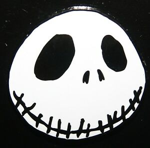 Disney Nbc Nightmare Before Christmas Jack Skellington Face Smiling Pin New Ebay