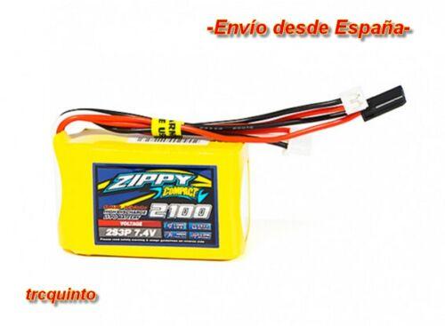 aviones drones 2100mA  2S 7,4v 10C receptores coches Bateria Lipo Zippy Copa