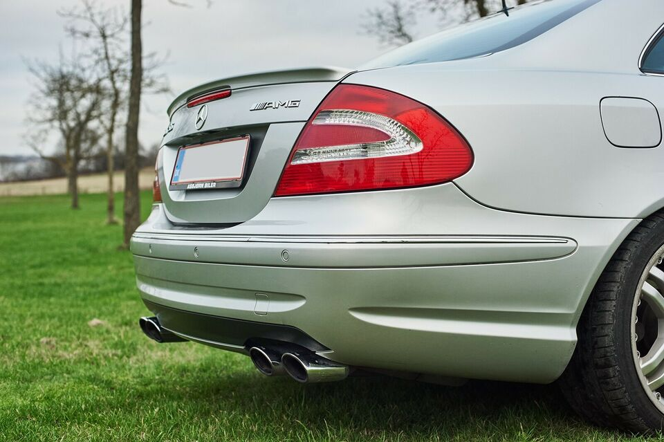 Mercedes CLK55, 5,4 AMG Coupé aut., Benzin