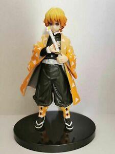 Anime-Demon-Slayer-Kimetsu-No-Yaiba-Vol-4-Agatsuma-Zenitsu-PVC-Figure-Toy-Gift