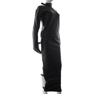 Sexy Full Body Harness Long Straight Jacket Sleep Sack Gay Adults ...