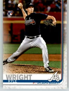 15-2019-Topps-Series-2-15-Card-Base-Lot-KYLE-WRIGHT-Braves-Rookie-473