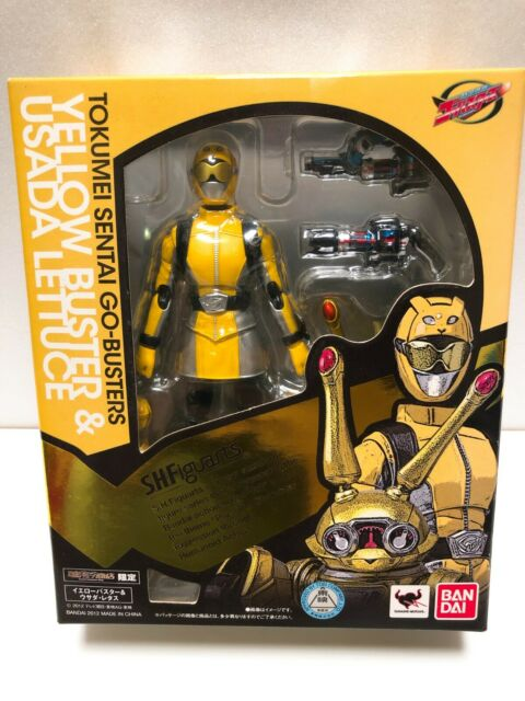 Power Rangers Bestia Morphers Go-Busters S. H. FIGUARTS Amarillo Buster & Usada