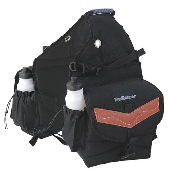 AMERICAN HERITAGE EQUINE DELUXE POLY  WESTERN SADDLE BAGS  cheapest