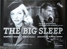 THE BIG SLEEP QUAD POSTER BFI RE-RELEASE HUMPHREY BOGART LAUREN BACALL