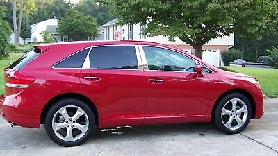 8PC SET CHROME PILLAR POSTS COVERS FOR TOYOTA VENZA