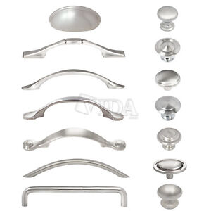 Exceptionnel Image Is Loading Satin Nickel Brushed Nickel Kitchen Cabinet Drawer Pull