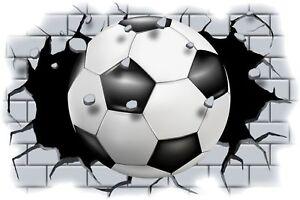 Huge-3D-Foot-Ball-Crashing-through-wall-View-Wall-Sticker-Mural-Decal-Film-102
