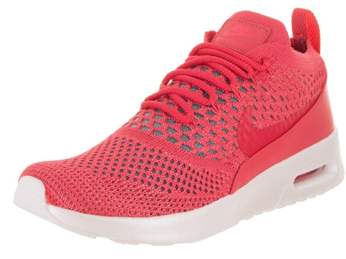 New Nike Women's Air Max Thea Ultra Flyknit Shoes (881175-603)  Geranium