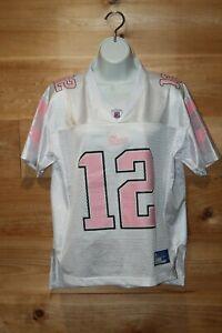 Women's Limited Edition Tom Brady Patriots Mesh Pink Jersey Reebok ...