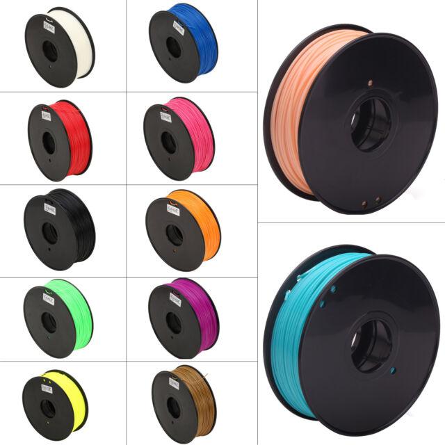 2.2LB Flexible ABS PLA HIPS 3mm 1.75mm 3D Printer Filament  For RepRap MarkerBot