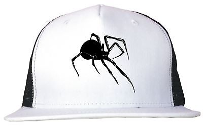 Black Widow Spider Logo Trucker Hat Cap Adjustable