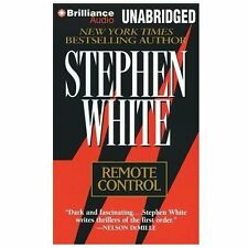 REMOTE CONTROL unabridged audio book on CD by STEPHEN WHITE