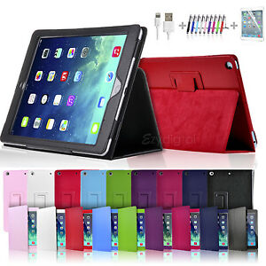 New-Smart-Flip-Leather-Case-Cover-for-New-iPad-5-iPad-Air