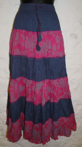 New Fair Trade Cotton Skirt 16 18 20 22 Hippy Ethnic Ethical Hippie Gypsy