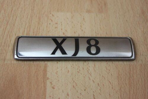 "/""XJ8/"" Badge Coffre//Coffre Couvercle Plaque-Jaguar XJ X350 XJ8 2003-2010"
