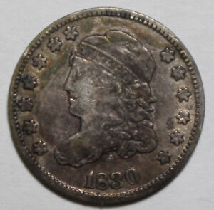 1830 Capped Bust Half Dime C24