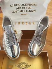 hot sale online aad7e a6275 item 1 Nike Air Jordan Retro 1 Low OG Pinnacle SZ 11 Metallic Silver PRM  852549-003 -Nike Air Jordan Retro 1 Low OG Pinnacle SZ 11 Metallic Silver  PRM ...