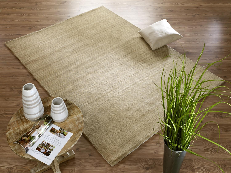 Nepal Nepal Nepal Teppich Handloom AG002 467 Beige Mix 120x180 cm e5ee34