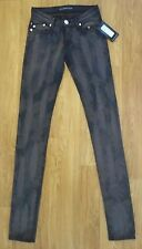 NWT Rock & Republic 'Crazy Bitch in Equation'  lowrise skinny Tie Dye jeans 25