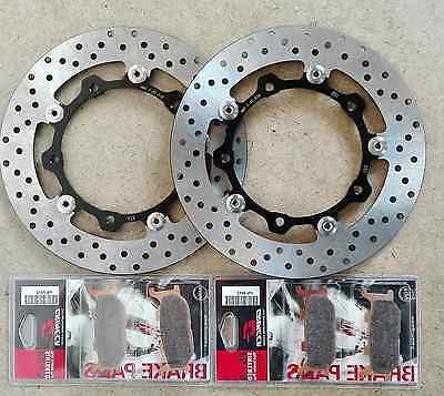 Kit complet disques plaquettes de frein rMS Yamaha T-Max 500/2008//2011