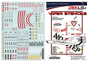 1-32-Colonial-Viper-Enhanced-Stencils-Decal-DEK-L-039-s-II