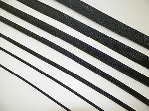 BLACK-BRAIDED-EXPANDABLE-FLEX-SLEEVE-WIRING-HARNESS-LOOM-FLEXABLE-WIRE-COVER