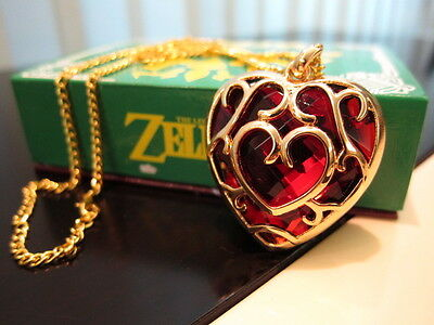 Legend of Zelda necklace Skyward Sword Heart Containers keychain pendant + BOX