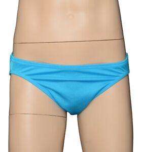 Trunks Swimwear Swimsuit Underwear Mens UNLINED Fluro Pink Low Cut Posing Brief