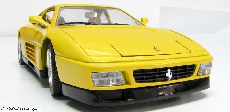 salida de fábrica Bburago 3039 3039 3039 ferrari 348 TB 1989 amarillo  Todo en alta calidad y bajo precio.