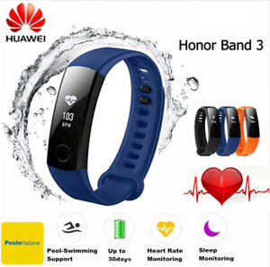 Huawei-Honor-Band-3-INTELIGENTE-MULTIFUNCIoN-SEGUIMIENTO-PASOS-PULSOMETRO-blue