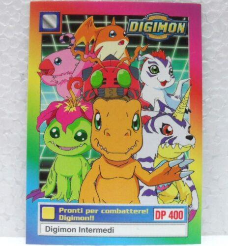 SERIE TV-1a SERI DIGIMON TRADING CARDS CAMPIONI 2//34 PRONTI PER COMBATTERE