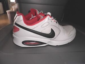 wholesale dealer 3acac 67bb5 Image is loading Nike-Air-Max-Coliseum-Racer-Shoes-White-Red-