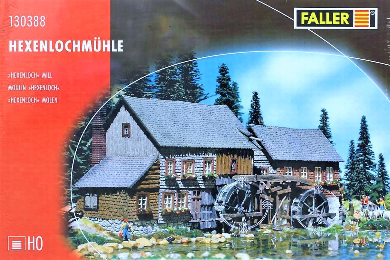 Faller 130388 H0 - Hexenlochmühle mit Motor NEU & & & OvP    Reparieren  df8a4b