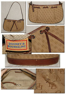 Canvas Leather Db Logo Small Purse